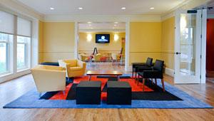 New Fields Center interior