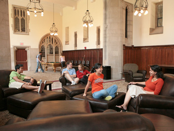 interactionsbetween all Princeton students   photo  Denise ApplewhitePrinceton Dorms Inside