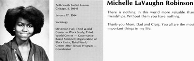 Michelle lavaughn robinson princeton thesis pay to do psychology curriculum vitae