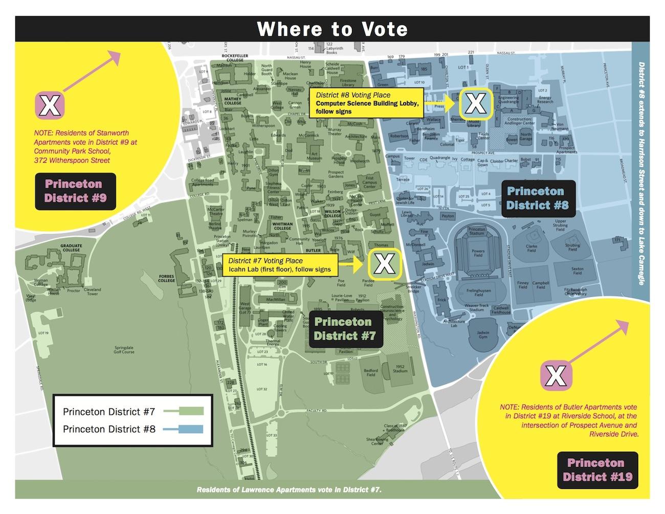 Princeton Campus Map Pdf.Princeton Vote